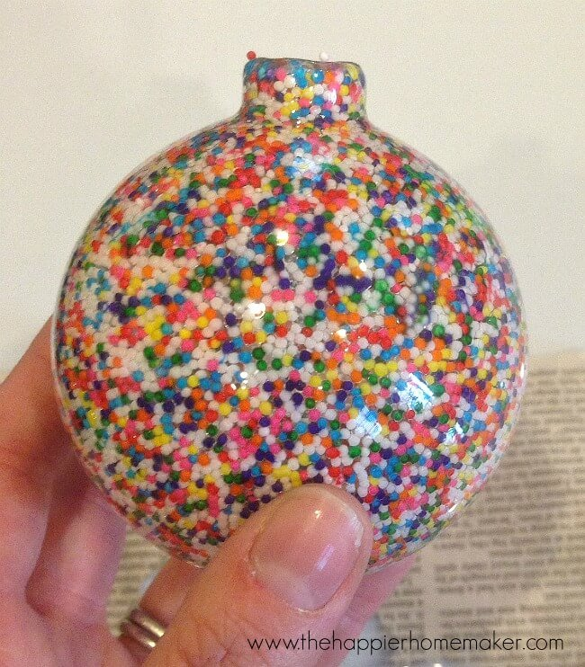 sprinkle ornament how to