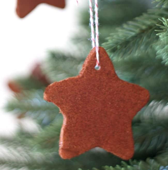 Homemade Christmas Ornaments Dough Cinnamon : Cinnamon dough ornaments the happier homemaker