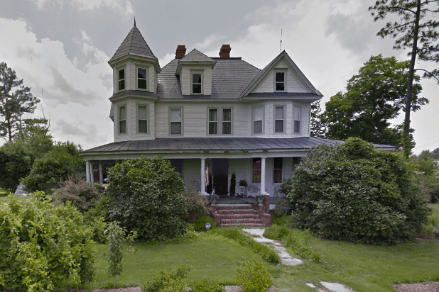old white victorian house in Virginia