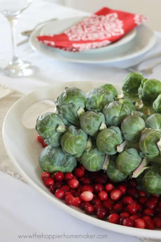 brussel sprout centerpiece