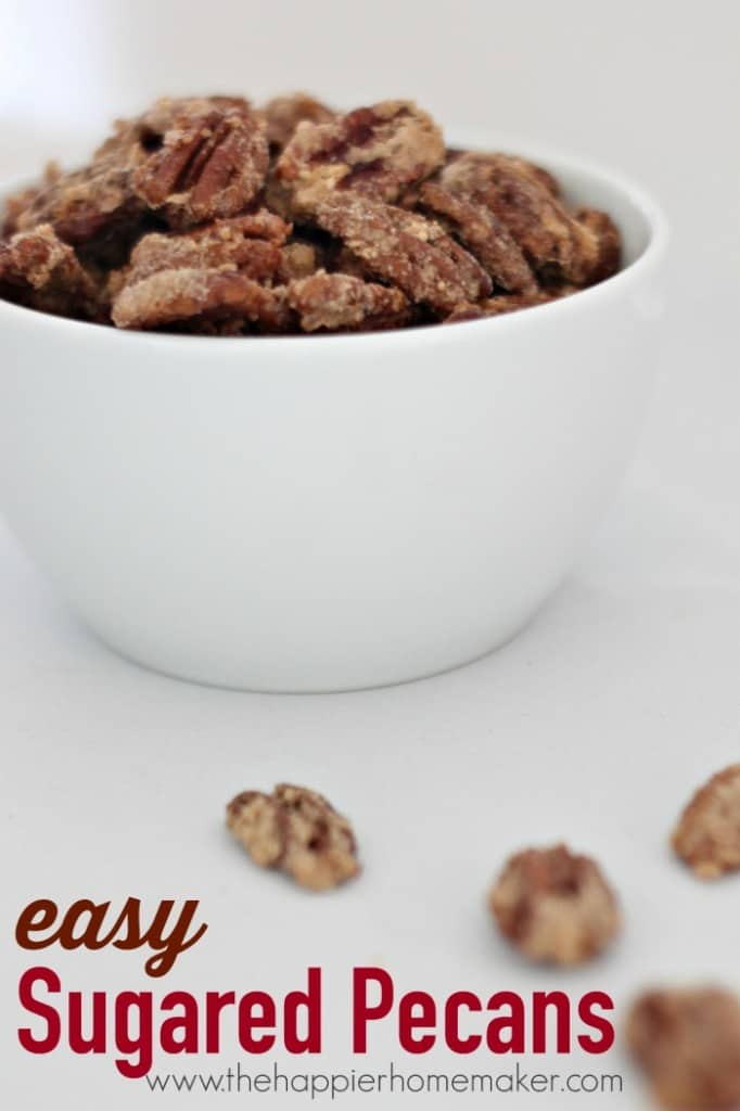easy sugared pecan recipe