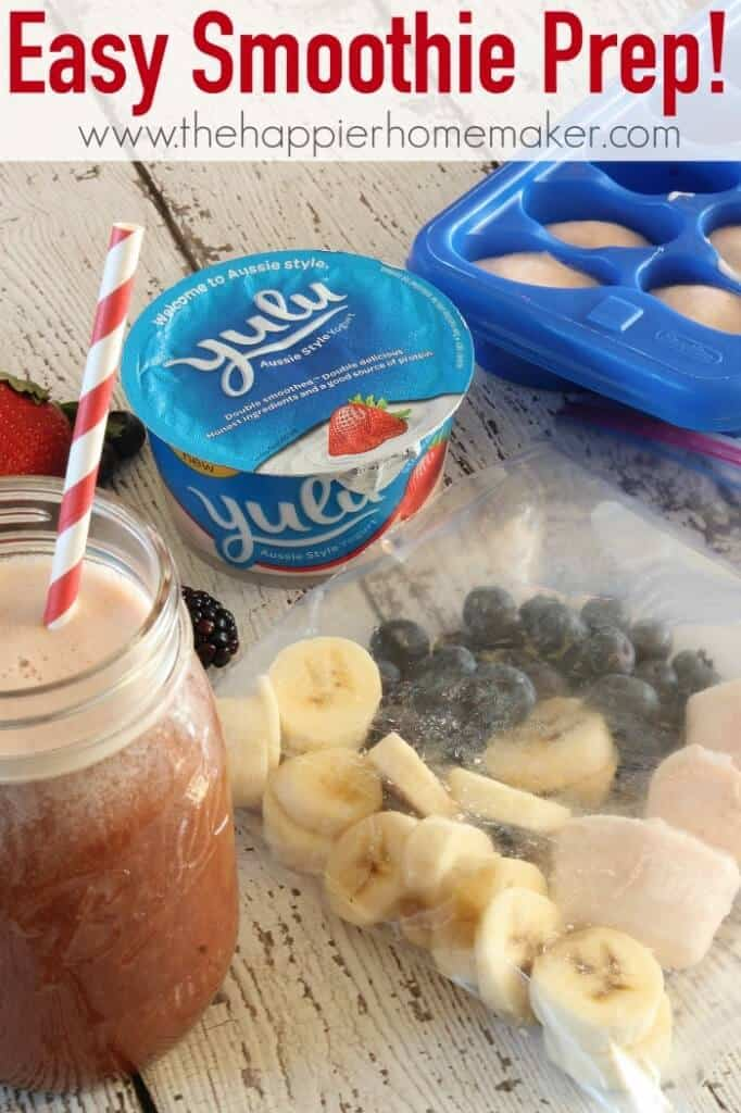 easy smoothie prep