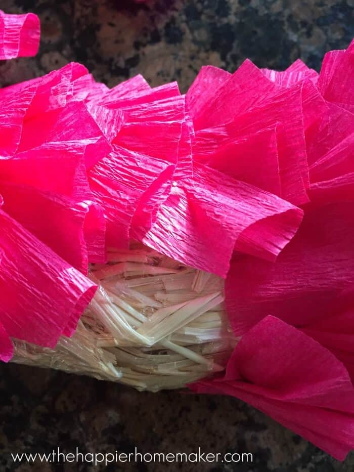 how to make a ruffle wreath