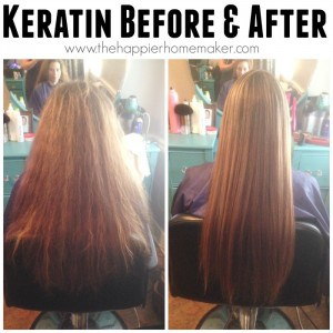 keratin treatment before and after picture curly hair