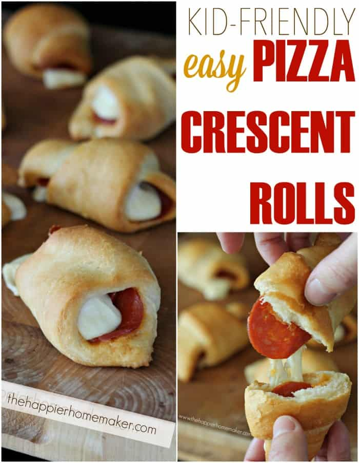 pizza crescent rolls kid friendly