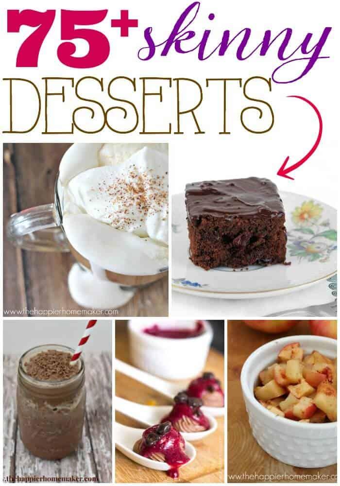 75 skinny desserts