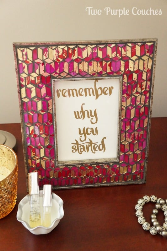 DIY-Paint-Pen-Quote-Art-Two-Purple-Couches