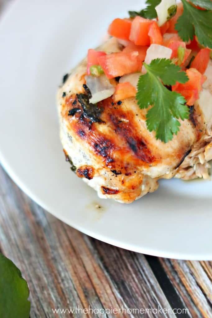 fhealthy cilantro lime chicken