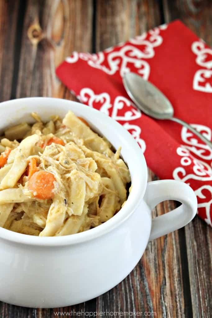 recipe homemade chicken noodles