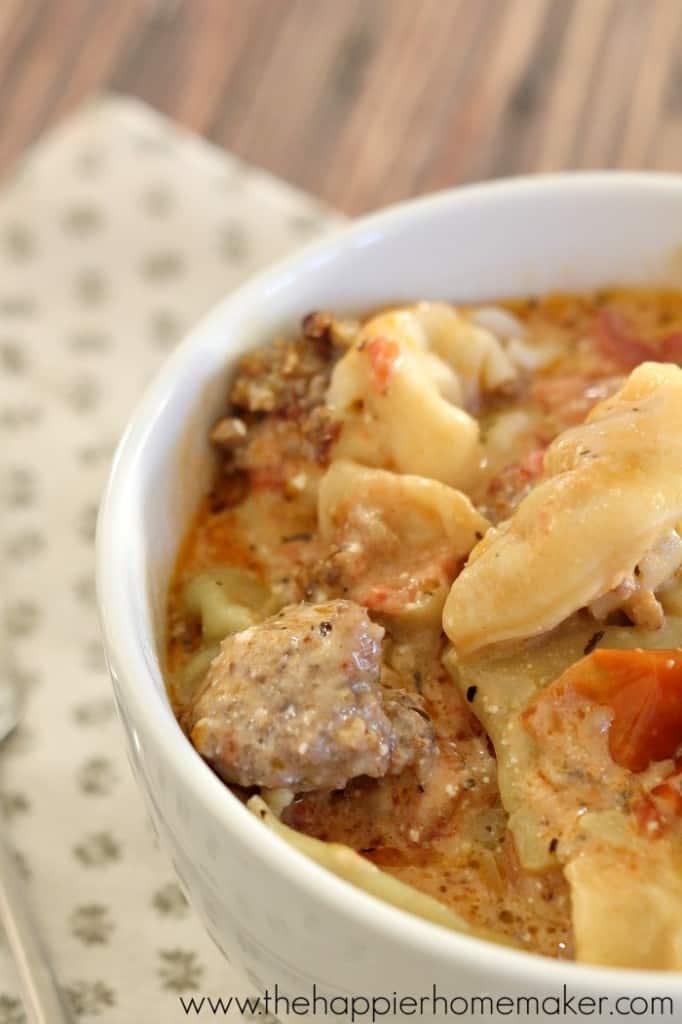 tortellini sausage recipe
