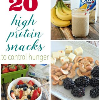 20 High Protein Snacks to Control Hunger