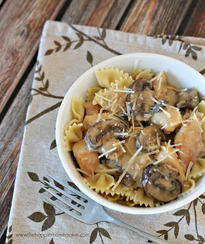 chicken mushroom parmesan recipe
