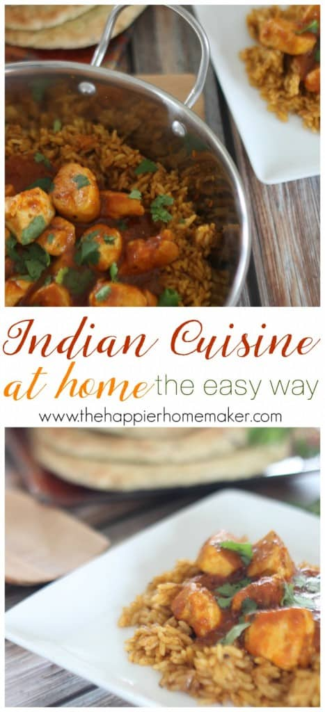 indian cuisine at home the easy way
