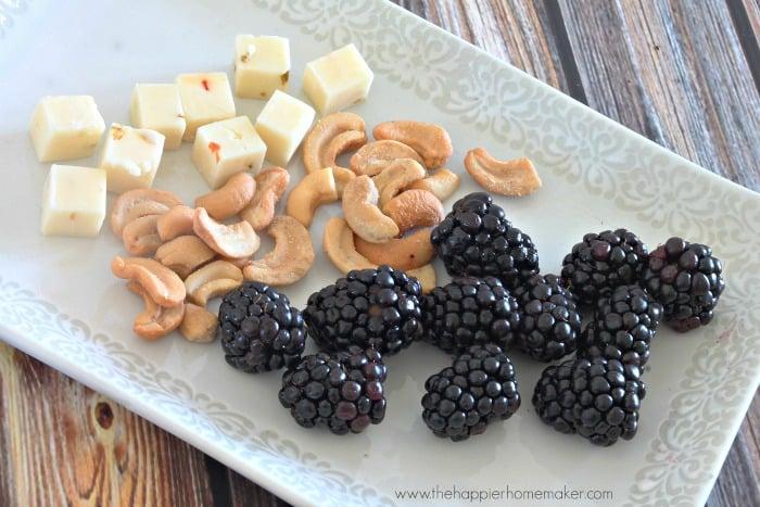 mini cheese tray healthy snack