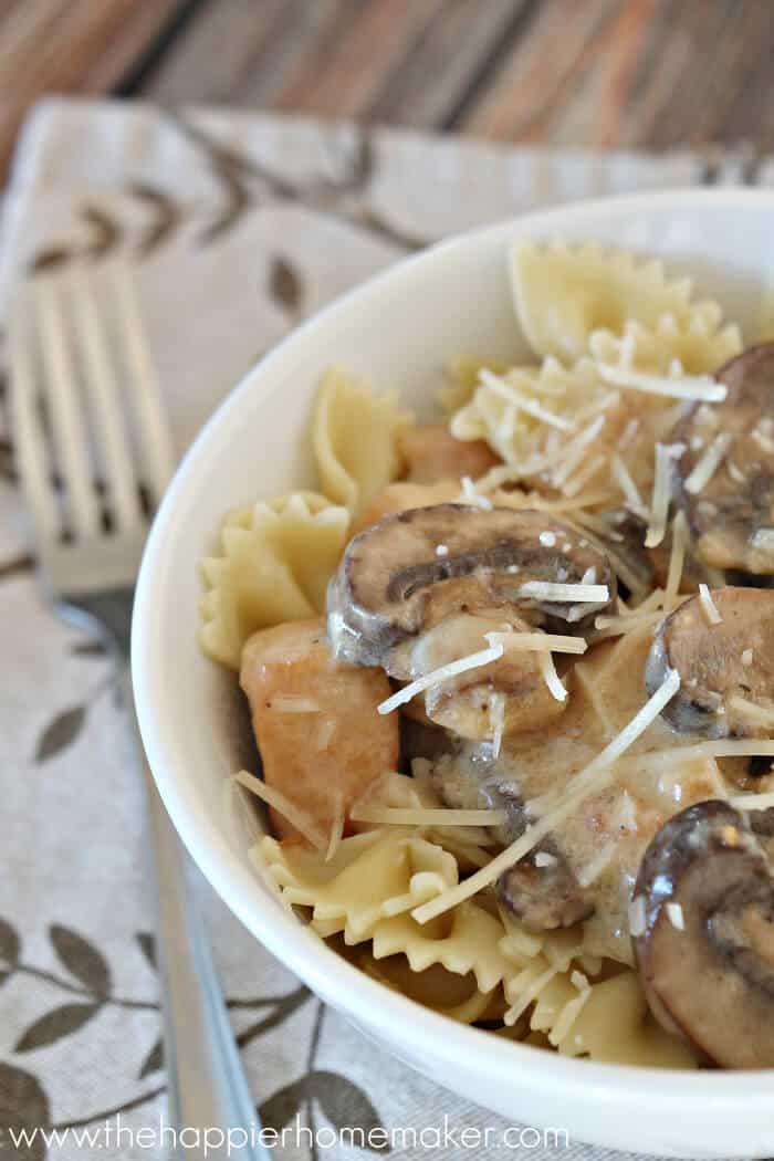Parmesan Mushroom Chicken