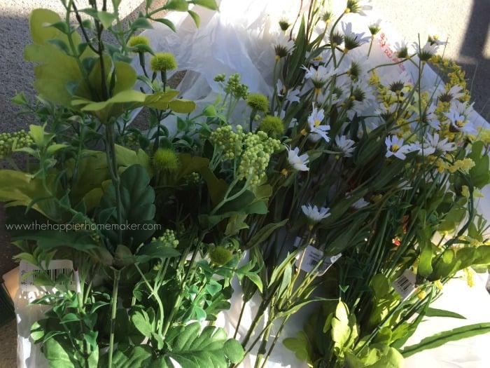 spring floral wreath