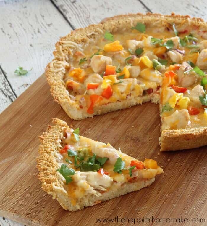 couscous mexican pizza