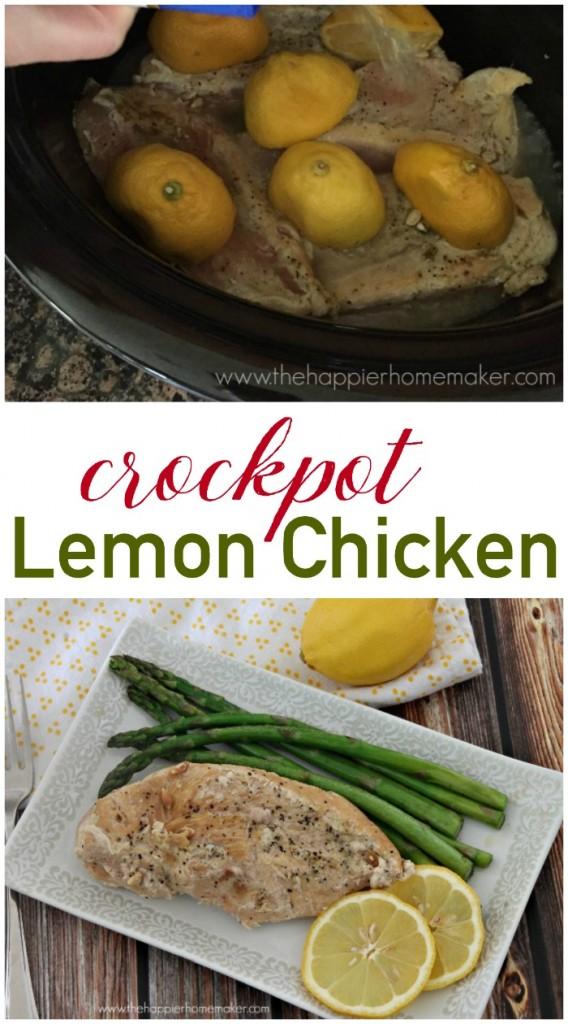 crockpot lemon chicken recipe greek style