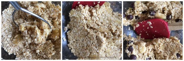 making 2 ingredient healthy cookies