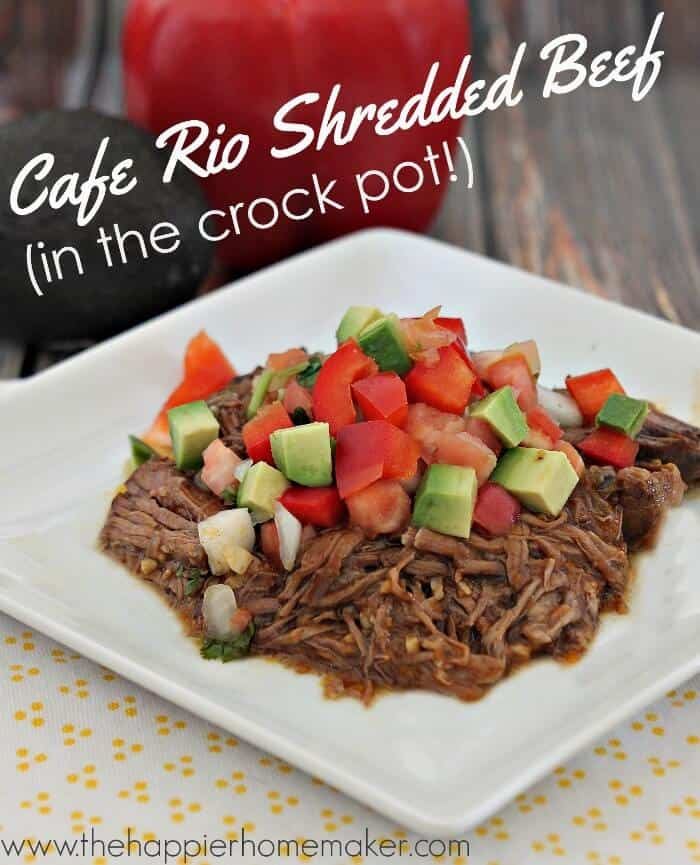 cafe rio shredded beef