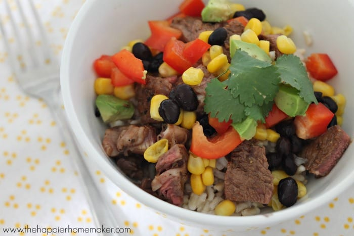 Clean eating burrito bowls and a delicious and deceptively healthy dinner recipe!