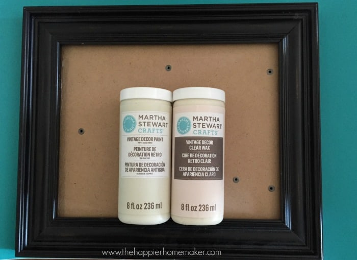 frame vintage decor paint