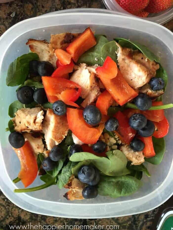 pre pack salad