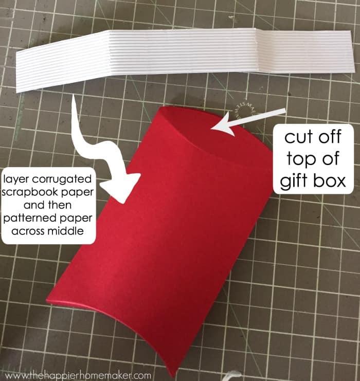 paper utensil holder diy
