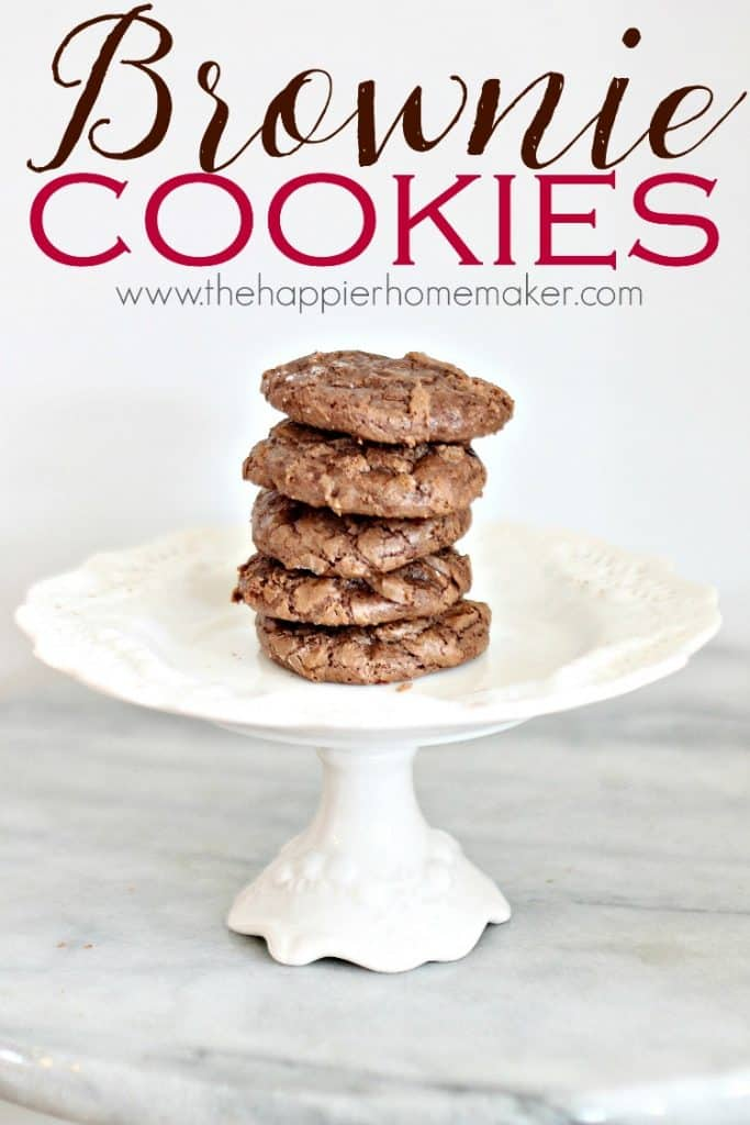 This amazing chocolate brownie cookie recipe will change the way you think about dessert!
