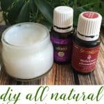 two essentials oils and all natural bug bite balm