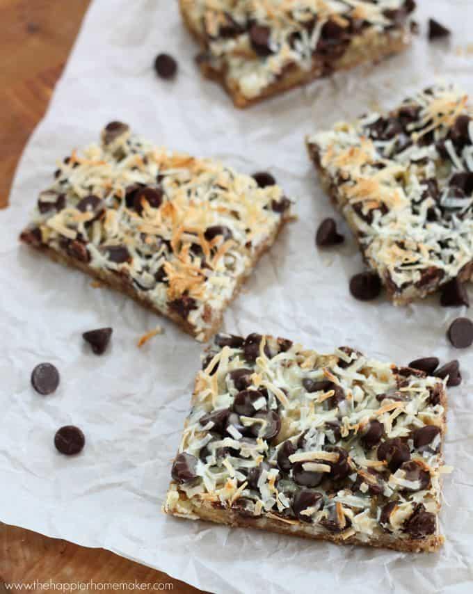 graham cracker chocolate coconut