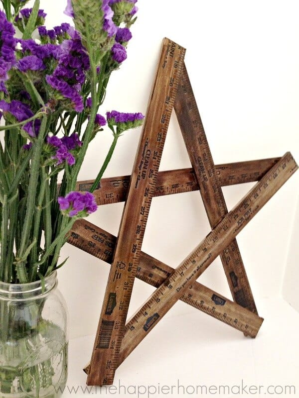 how-to-make-a-yardstick-star