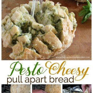 Pesto cheesy pull apart break