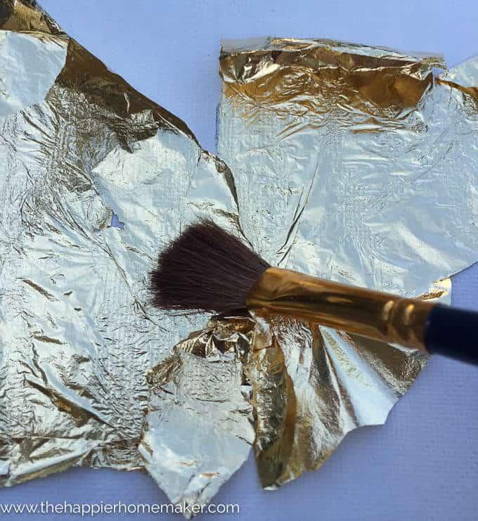 DIY Gold Leaf Canvas-3-2