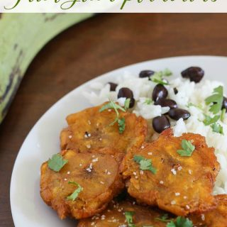 Fried Plantains Recipe tostones