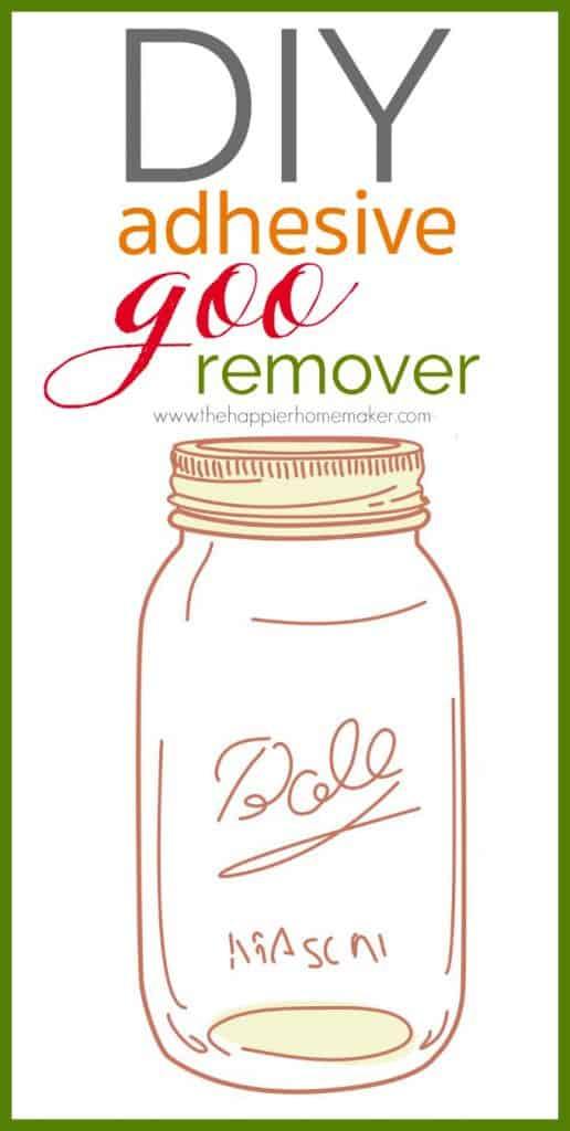 diy goo remover gone