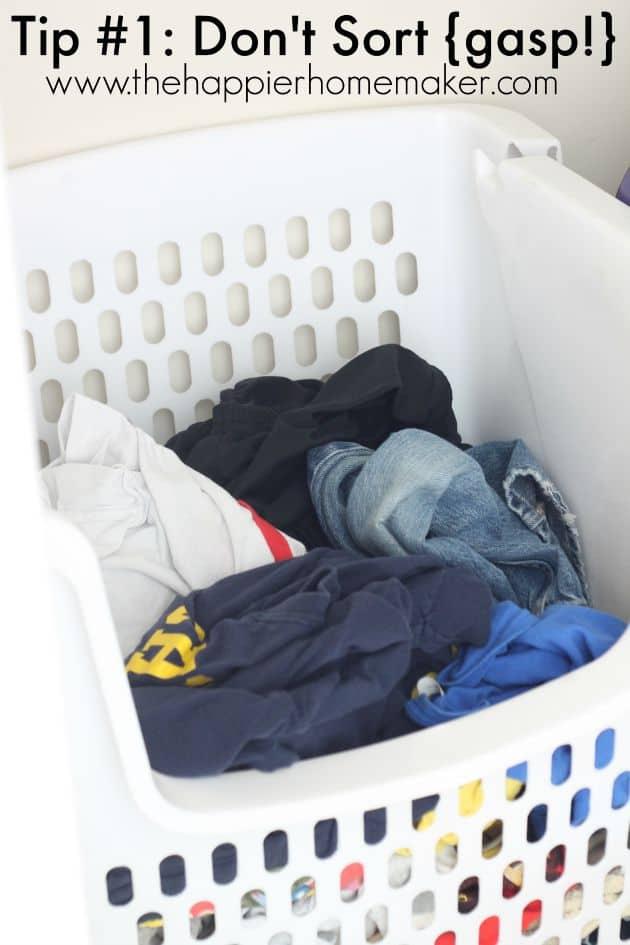 Laundry Tips to Make Life Easier! | The Happier Homemaker