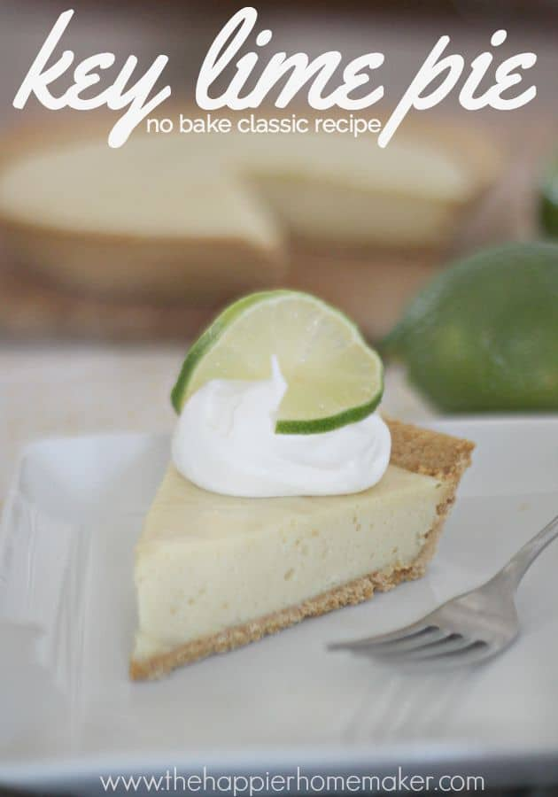 easy no bake key lime pie