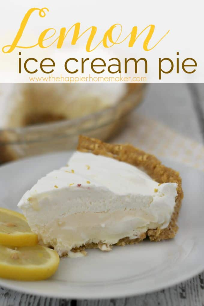 lemon ice cream pie cake