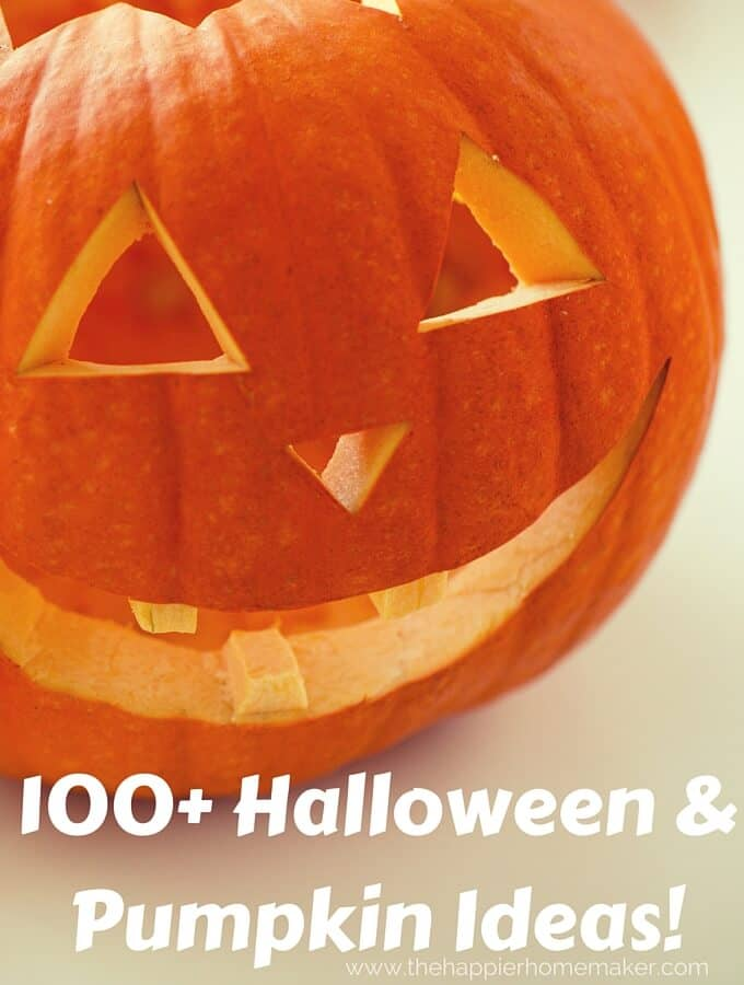 100+ Halloween & Pumpkin Ideas!