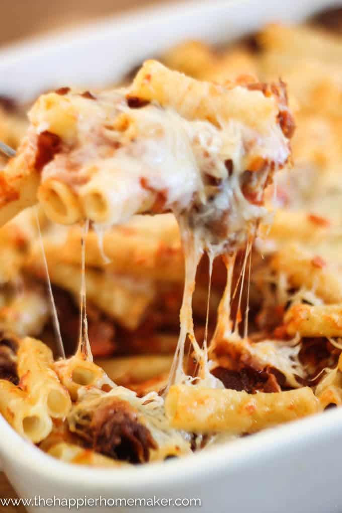 how to cook baked ziti