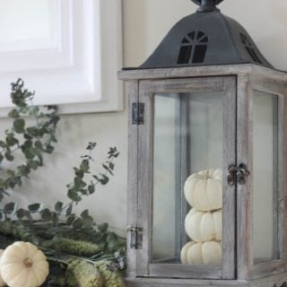 Autumn Mantel & Giveaway #FallFinds