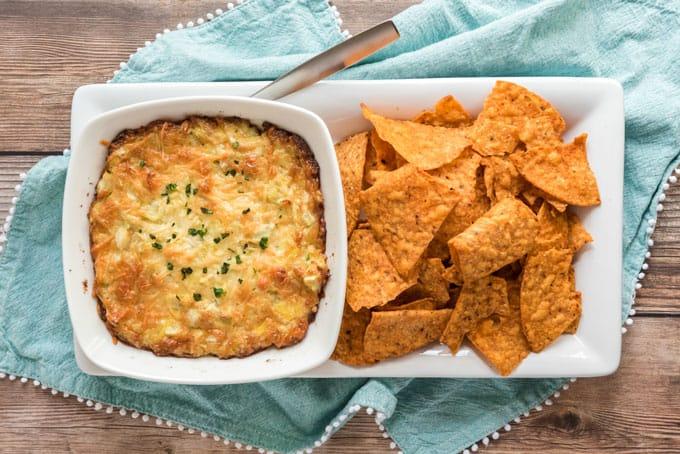Parmesan Artichoke Dip-1
