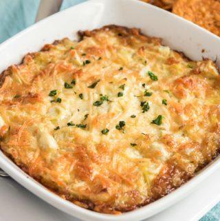 Parmesan Artichoke Dip Recipe