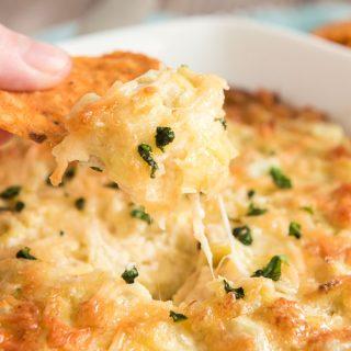 Baked Parmesan Artichoke Dip