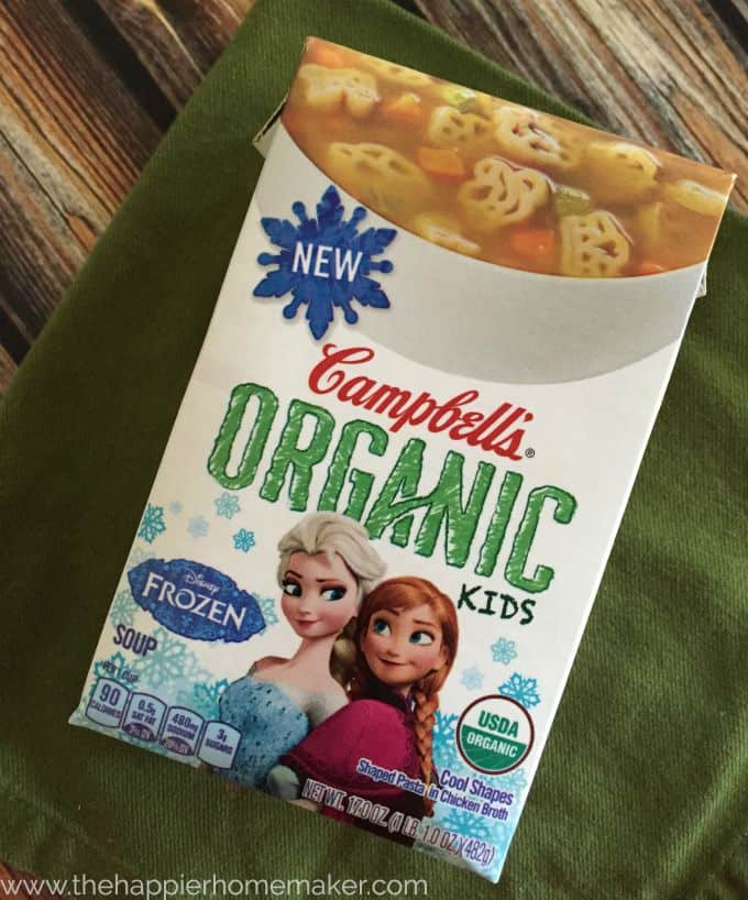 Campell's® Organic Kid's Soups!