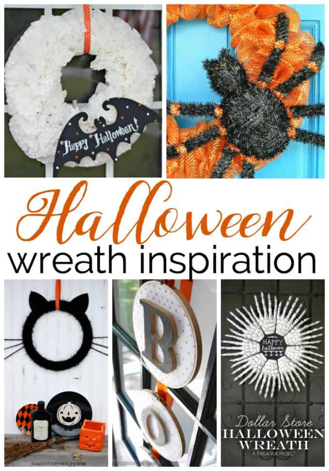 halloween wreath inspiration