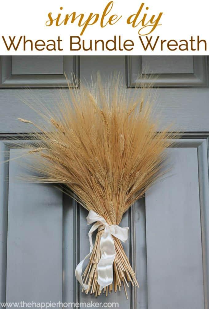 simple diy wheat bundle wreath-4