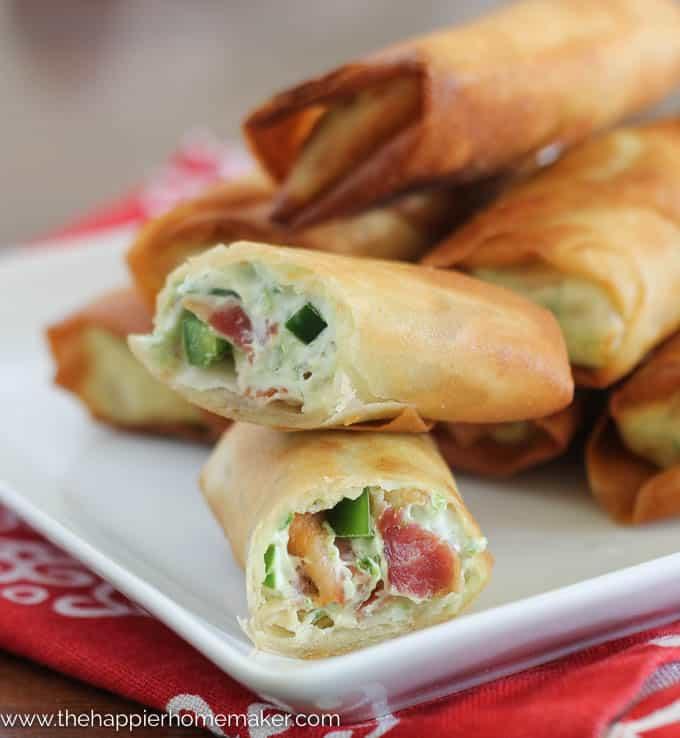 Bacon Jalapeño Popper Eggrolls-3
