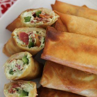 Bacon Jalapeño Popper Eggrolls